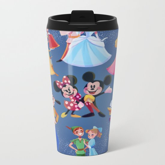 Take the Dream with you Metal Travel Mug