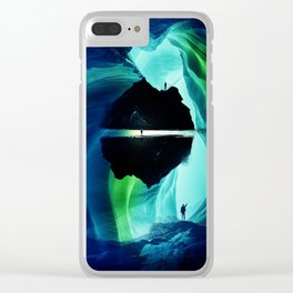 Can`n let you go Clear iPhone Case