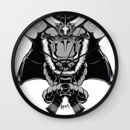 Savage Society: Gorilla Samurai Wall Clock