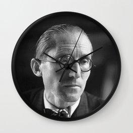 Rare Le Corbusier Potrait Wall Clock