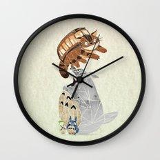 tonari no totoro Wall Clock