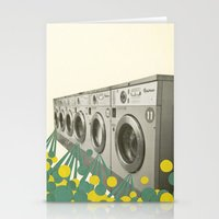 waterfall Stationery Cards featuring Waterfall by Cassia Beck
