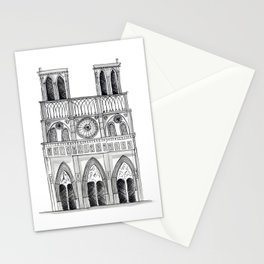 Notre Dame Sketch Stationery Cards