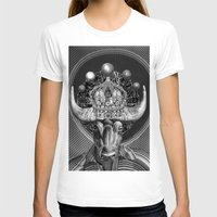 taurus T-shirts featuring TAURUS by Julia Lillard Art