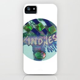 Kindness Charm iPhone Case