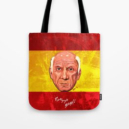 Pablo Picasso Remixed Tote Bag
