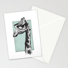 Short-Sighted Giraffe Stationery Cards