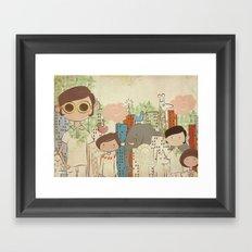 The Big City Framed Art Print
