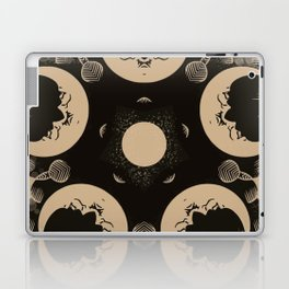 Ouija Wheel of the Moon - Beyond the Veil Laptop & iPad Skin