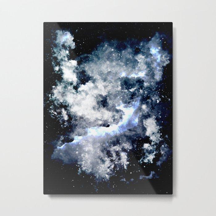 Frozen Galaxy Metal Print