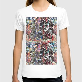 Love wall background T-shirt