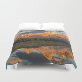 Sunrise On The Snake River Duvet Cover