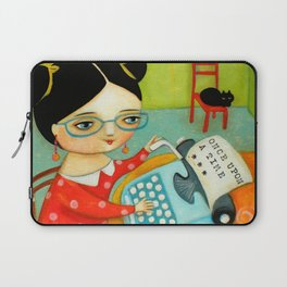 The writer of stories Laptop Sleeve