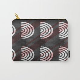 Target Record With Stripes Carry-All Pouch
