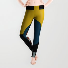 SPEECH AT THE BAUHAUS Leggings