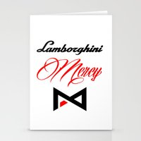 lamborghini Stationery Cards featuring Lamborghini Mercy by André Purve