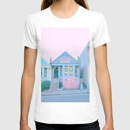 San Francisco Painted Lady Victorian House T-shirt