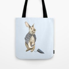 The Disguise: A Rabbit Tote Bag