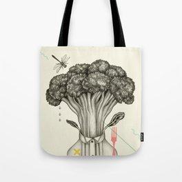 Mr. Broccoli Tote Bag