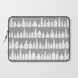 Bottles Grey Laptop Sleeve
