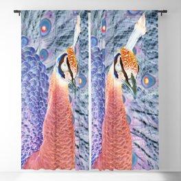 Peacock Blackout Curtain