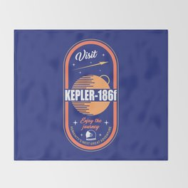 Kepler Throw Blanket