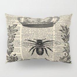 Paris french  garden farmhouse beekeeper honey bee queen Pillow Sham