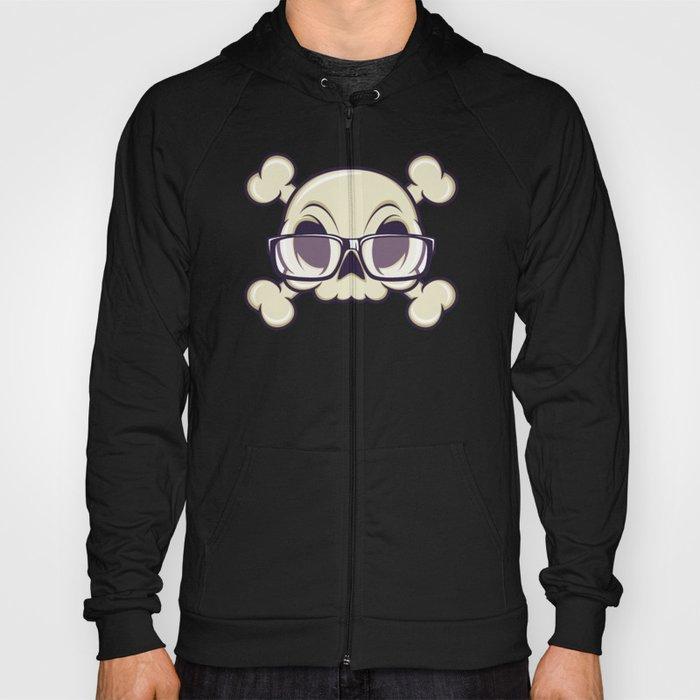 Nerd Skull Hoody