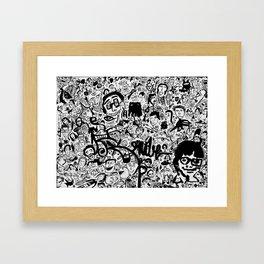 Caras II Framed Art Print