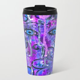 Hey, Blue Eyes? Metal Travel Mug