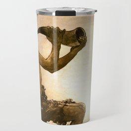 """The Little Shepherd"" John Bauer Watercolor Travel Mug"