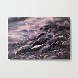 River Rocks I Metal Print