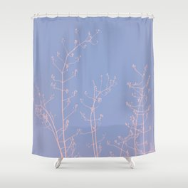 Serenity of Rose Jasmine Shower Curtain
