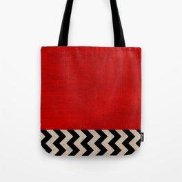 Twin Peaks - Red Room Tote Bag