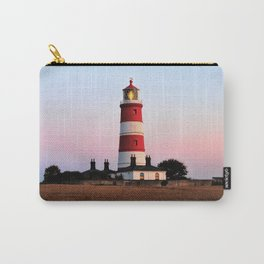 Happisburgh lighthouse shining Carry-All Pouch