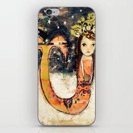 Secrets in the sand iPhone Skin