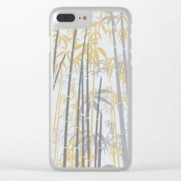 Bamboo IX Clear iPhone Case