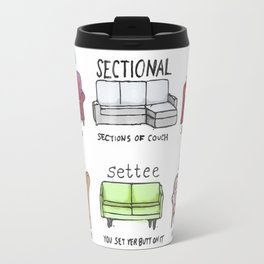 Know Your Couches: A Visual Guide Travel Mug
