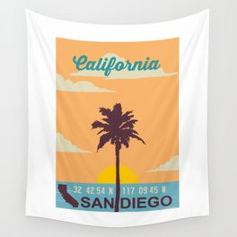 San Diego. Wall Tapestry