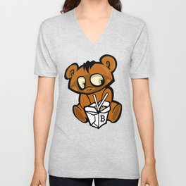 Bitcoin Carry-Out Unisex V-Neck