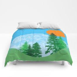 Rainier or Shine Comforters