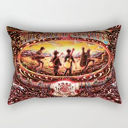avett brothers all tour 2020 kentut Rectangular Pillow