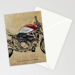 2019 D Monster 1200 25° Anniversario birthday gift Stationery Cards