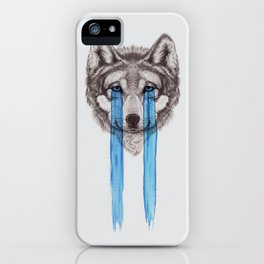 Don't Cry Wolf iPhone Case