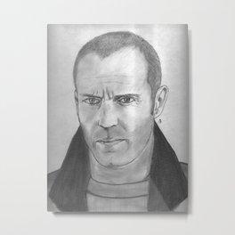 Jason Statham Metal Print