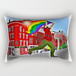 """""""Paul Bunyan PRIDE"""" Rectangular Pillow"""