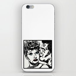 Lucy and Desi iPhone Skin
