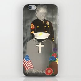 Not all heroes wear capes iPhone Skin