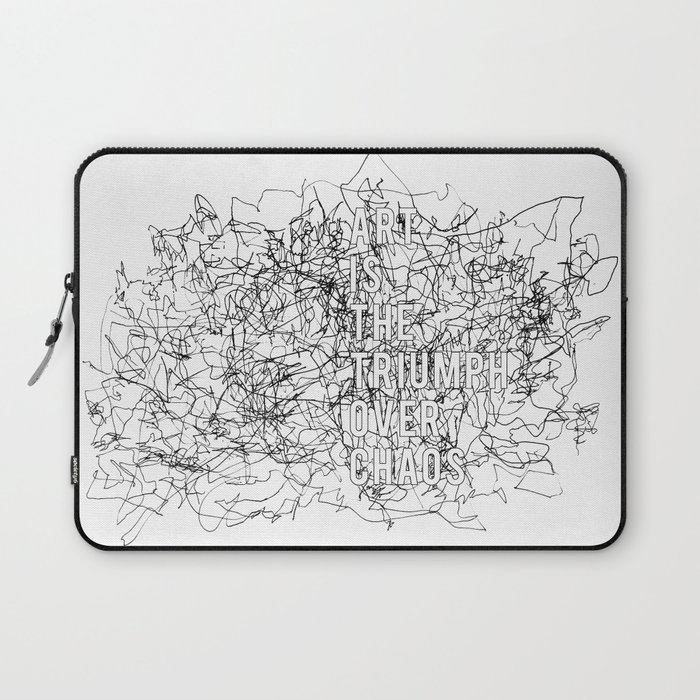 Triumph Over Chaos. Laptop Sleeve