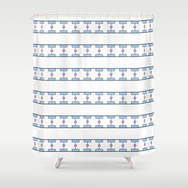Funnies stripes II Shower Curtain